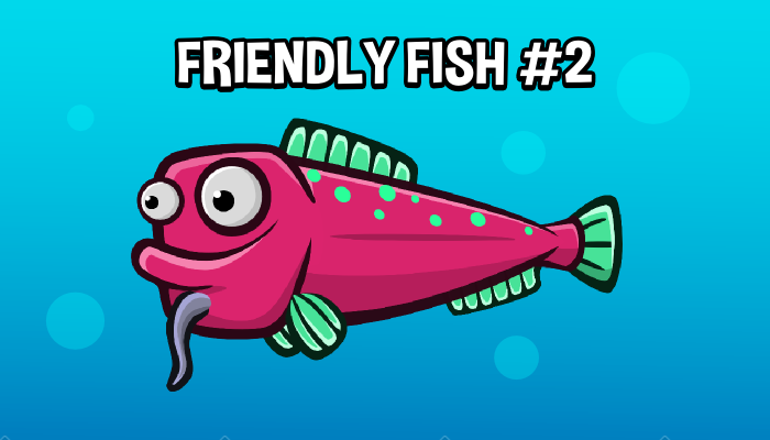 Animated friendly fish 2
