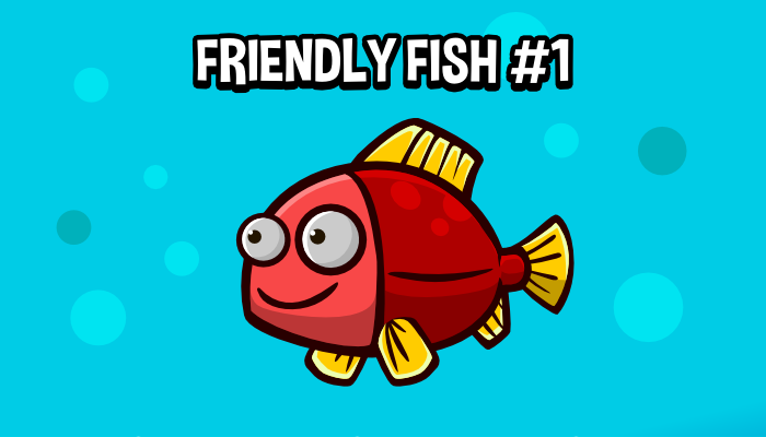 Animated friendly fish 1