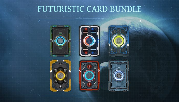 Futuristic Card Bundle
