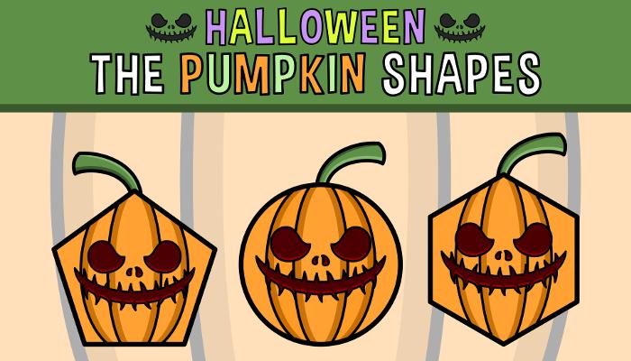 Halloween – The Pumpkin Shapes