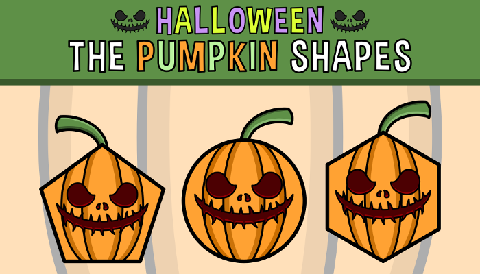 Halloween – The Pumpkin Shapes