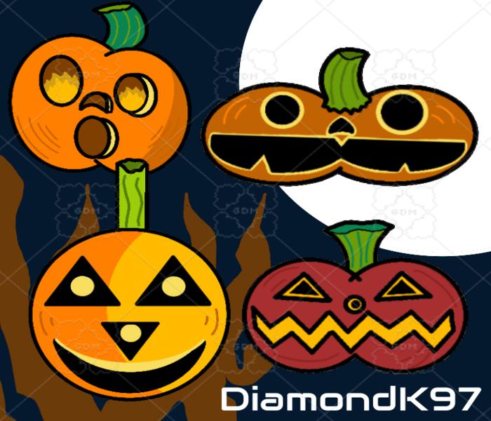 Jack-O-Lanterns and Pumpkins
