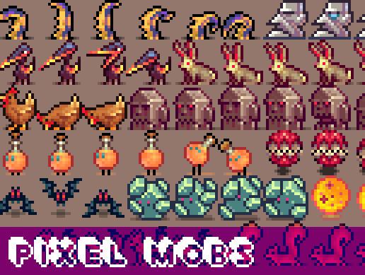 Pixel Mobs