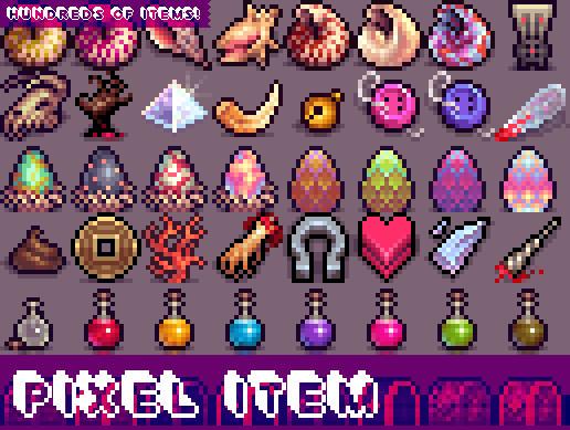 Pixel Items