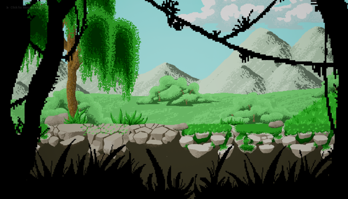 2D Pixel Forest and Medieval City Pack