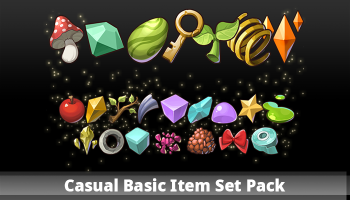 Casual Basic Item Set Pack