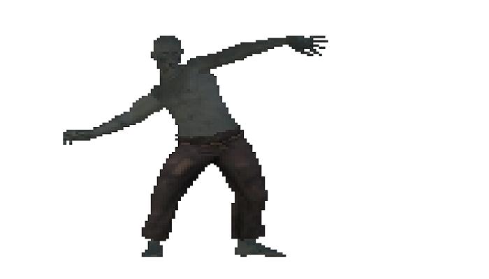 2D Zombie Sprite Sheets