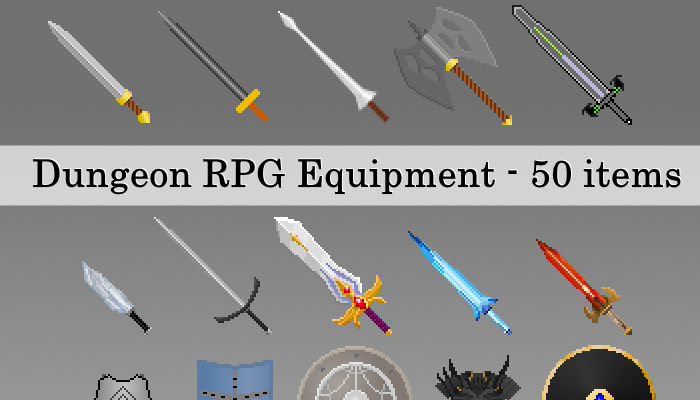 Dungeon RPG Equipment
