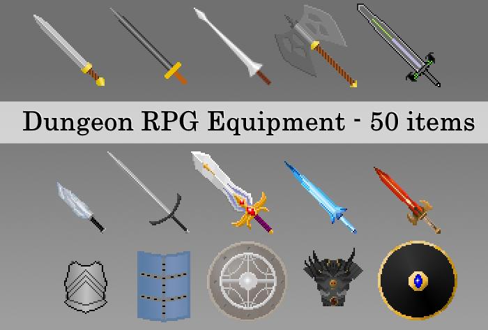 Dungeon RPG Equipment