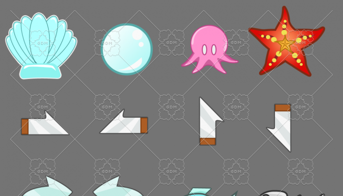 Aquatic Marine Icons