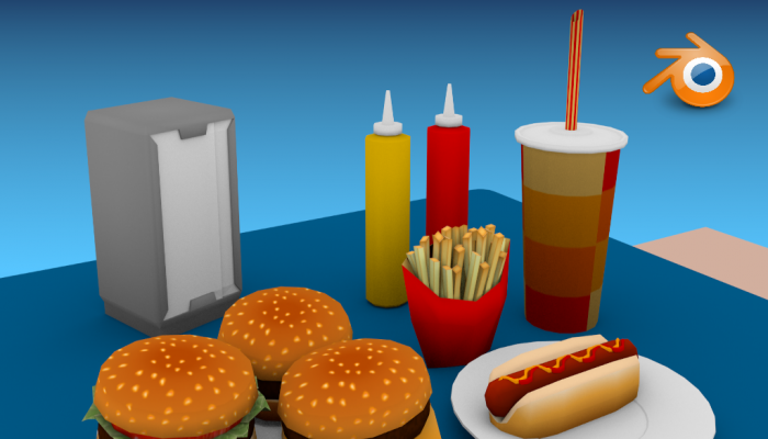 Fast Food Props