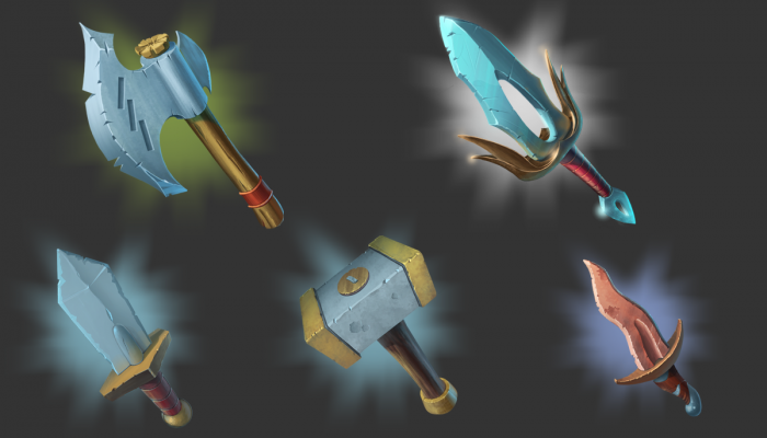 FANTASY WEAPON SET