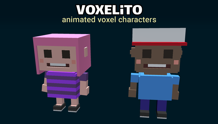 Voxelito – Animated Characters (Demo)