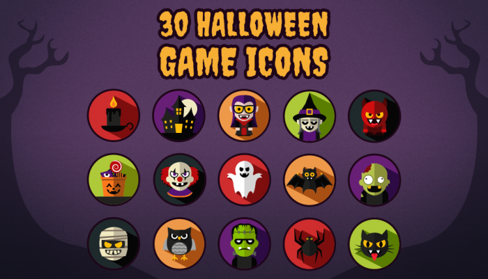Halloween Game Icons