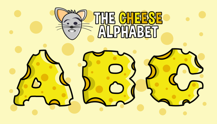 Assets For Children´s Games – The Cheese Alphabet