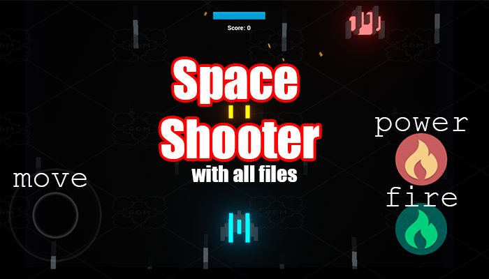 Flying Shooter Game Template