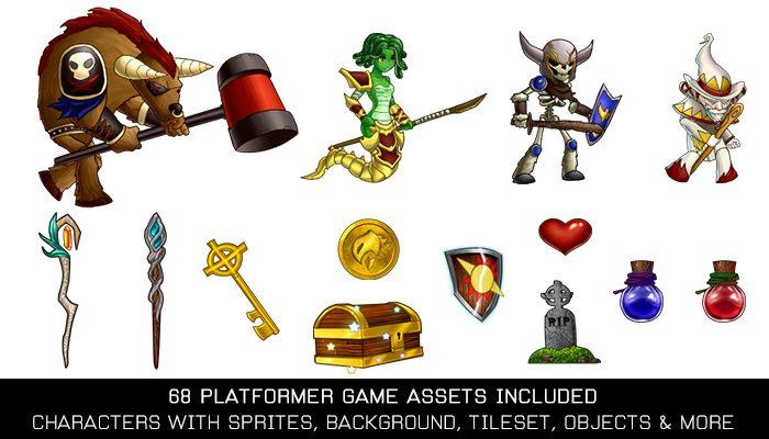 Free Platformer Game Kit