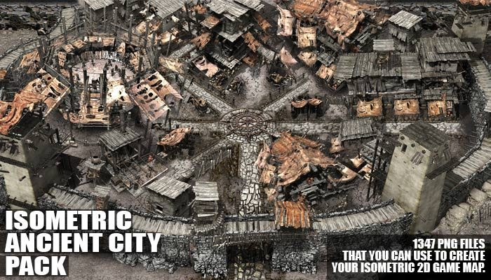 Isometric Ancient City Pack