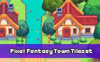 Pixel Fantasy Town Tileset