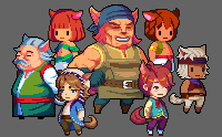 Cat People Sprite