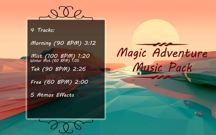 Magic Adventure Music Pack (Minecraft type)