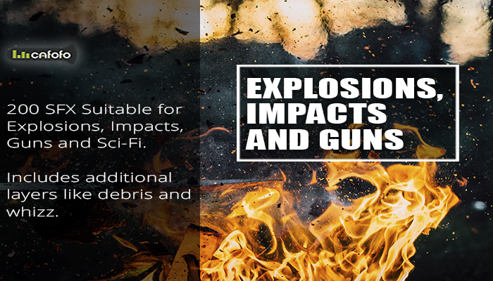 Explosions Impacts and Guns