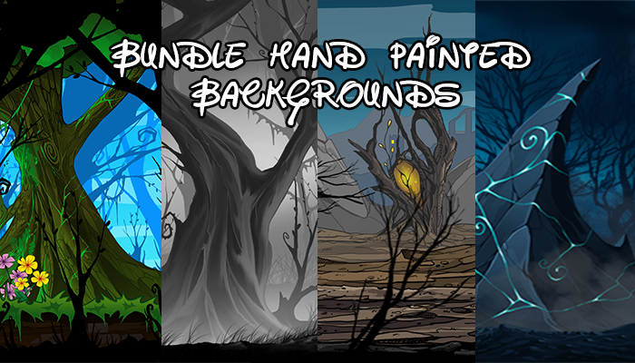 Bundle Hand Painted Backgrounds