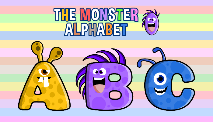 Assets For Children´s Games – The Monster Alphabet (ENG-SPAN.)