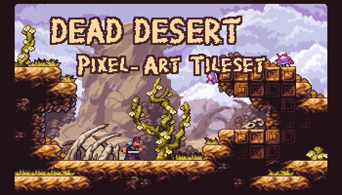 Dead Desert – Fantasy Pixel-Art Tileset