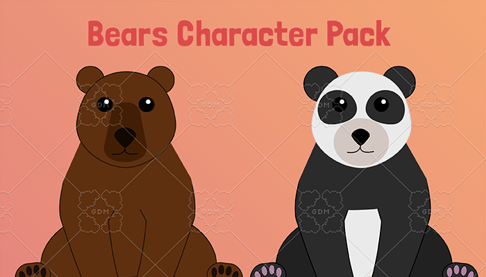 Bear Character Pack