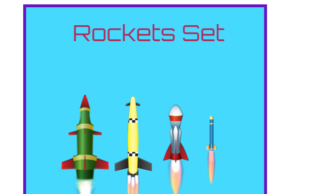 Animated Rocket Set