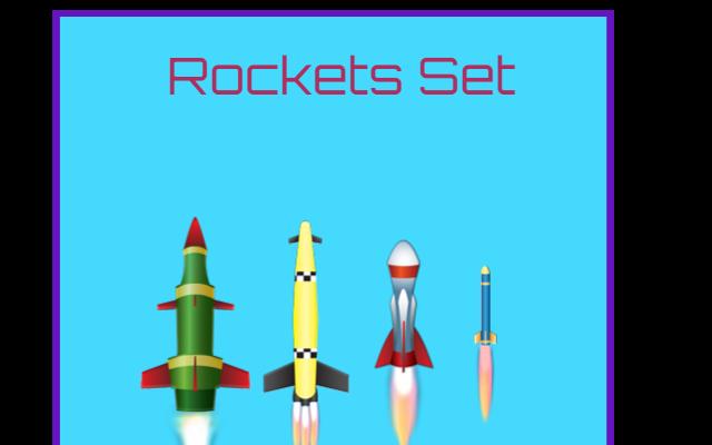 Animated Rocket Set