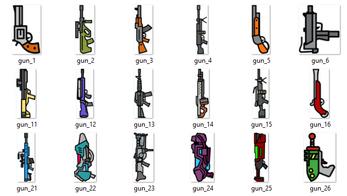 2d Guns
