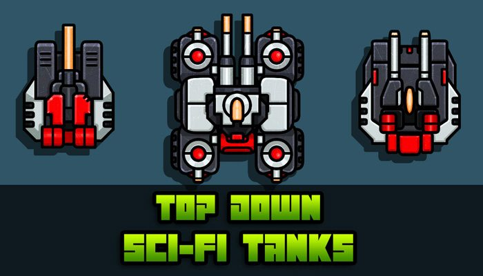Top Down Sci-Fi Tanks