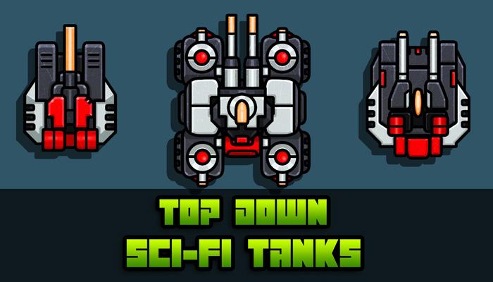 Top Down Sci-Fi Tanks