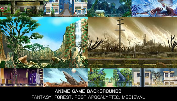Anime Game Backgrounds