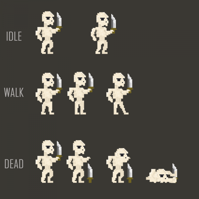 Pixel Skeleton