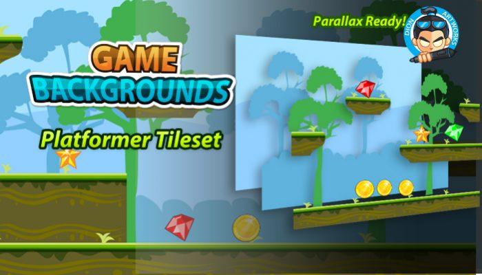 Plat Former Game BG 06