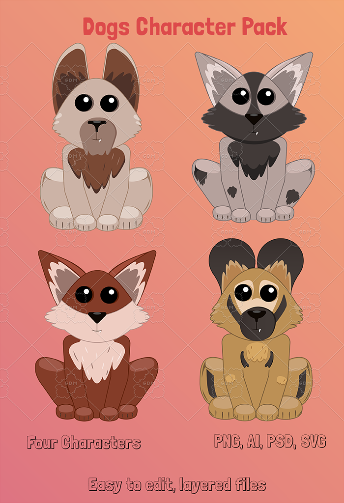 Dogs Character Pack