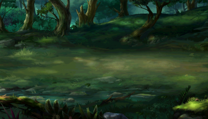PARALLAX BACKGROUND – JAGGED JUNGLE