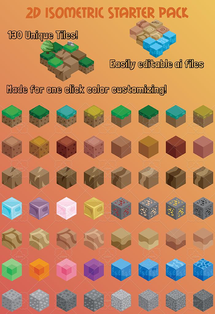 2D Isometric Starter Pack