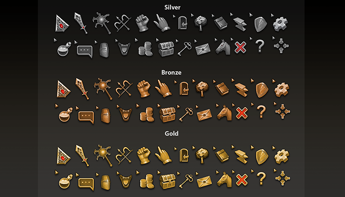 Old Style Fantasy Cursors