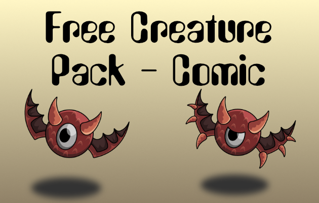 Free Monster Creature Battler + Animation Pack