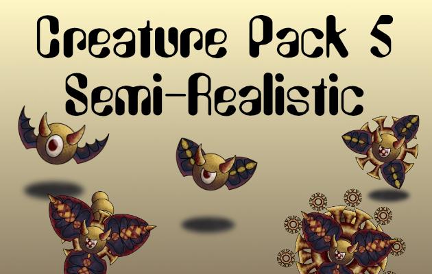 Creature Pack 5 Semi-Realistic
