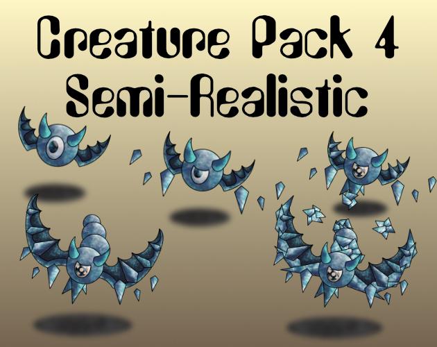 Creature Pack 4 Semi-Realistic