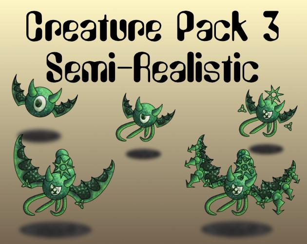 Creature Pack 3 Semi-Realistic