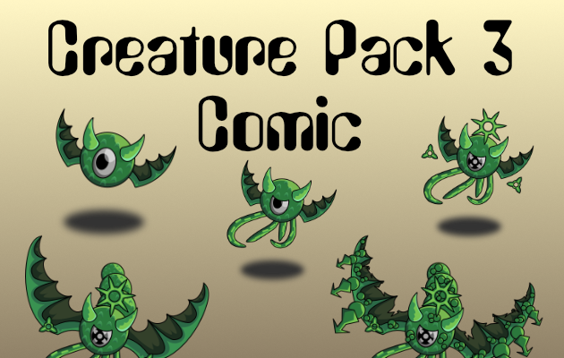 Creature Pack 3 Comic Style