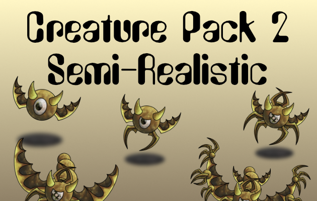 Creature Pack 2 Semi-Realistic