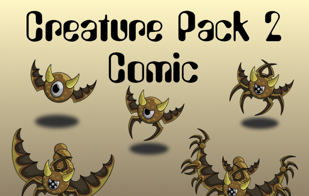 Creature Pack 2 Comic Style