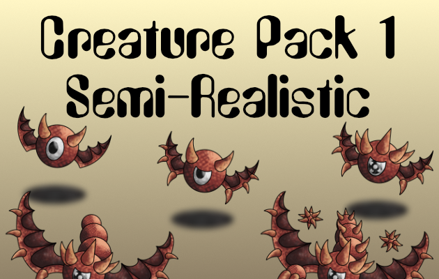 Creature Pack 1 Semi-Realistic